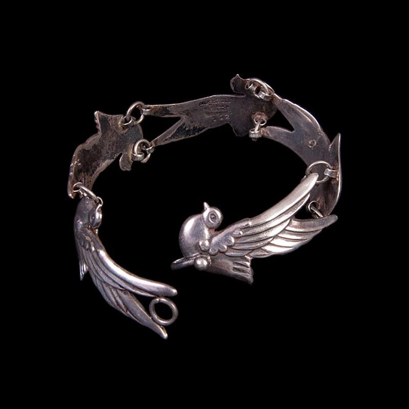 Taxco Silver Bird Rings